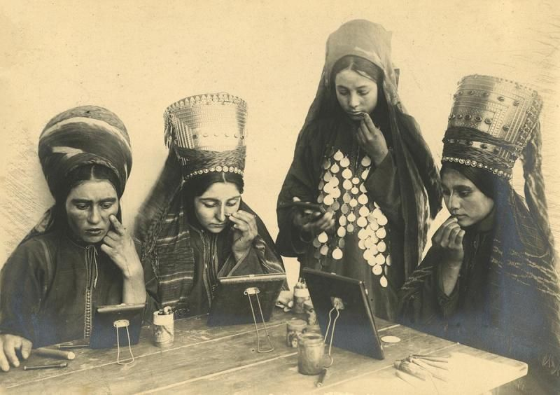 Celebrating diversity. An old photograph from Uzbekistan on display at the exhibition in London. (Karen Dabrowska)